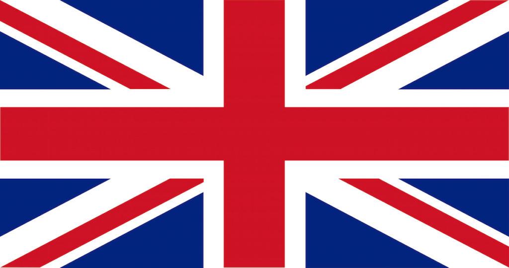 Foto della bandiera inglese