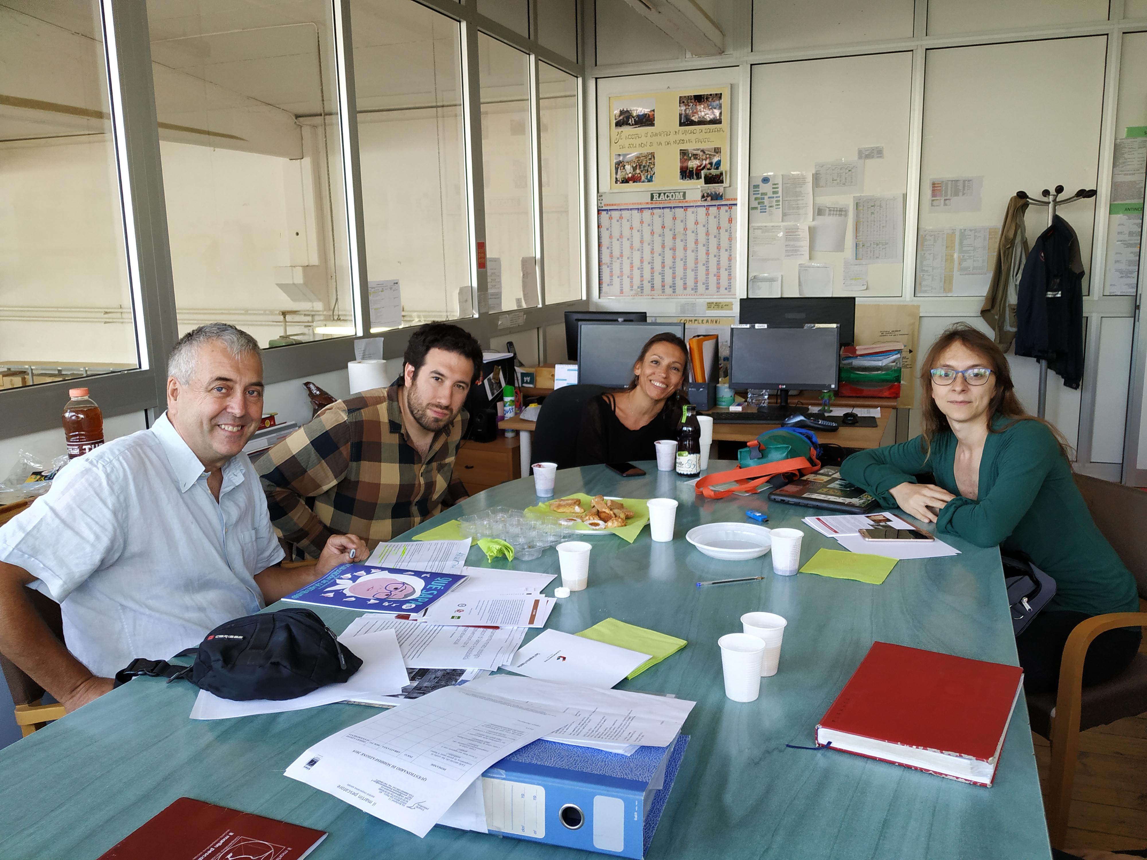 Visita rappresentanti della COOPERATIVA COMMUNITAS PARA LA INCLUSION SOCIAL Y LABORAL INCLUSION (Argentina)
